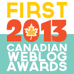 Canadian Blog Award 2013