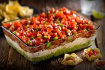 Cheddar-salsa-dip