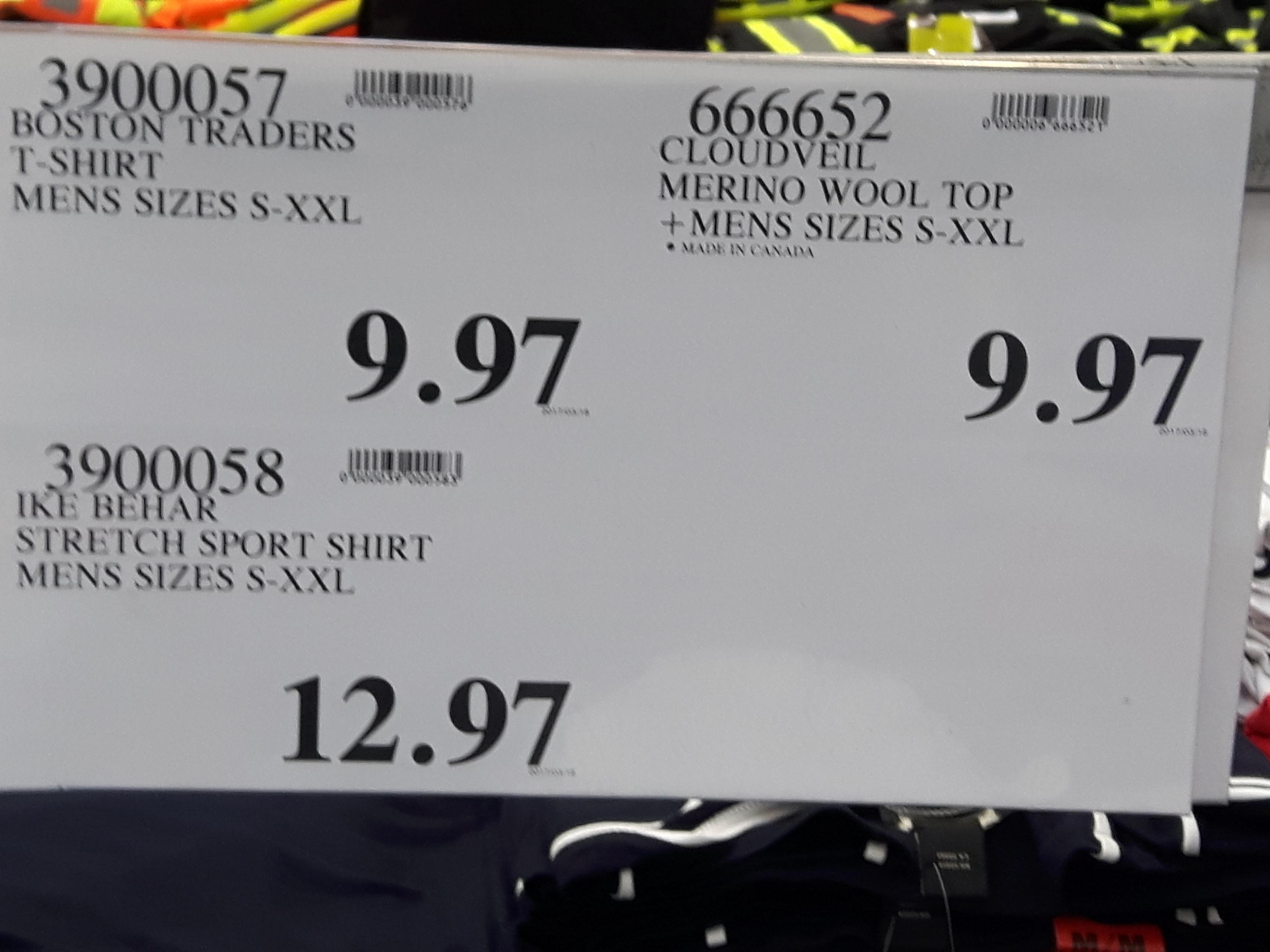 Costco deals .97