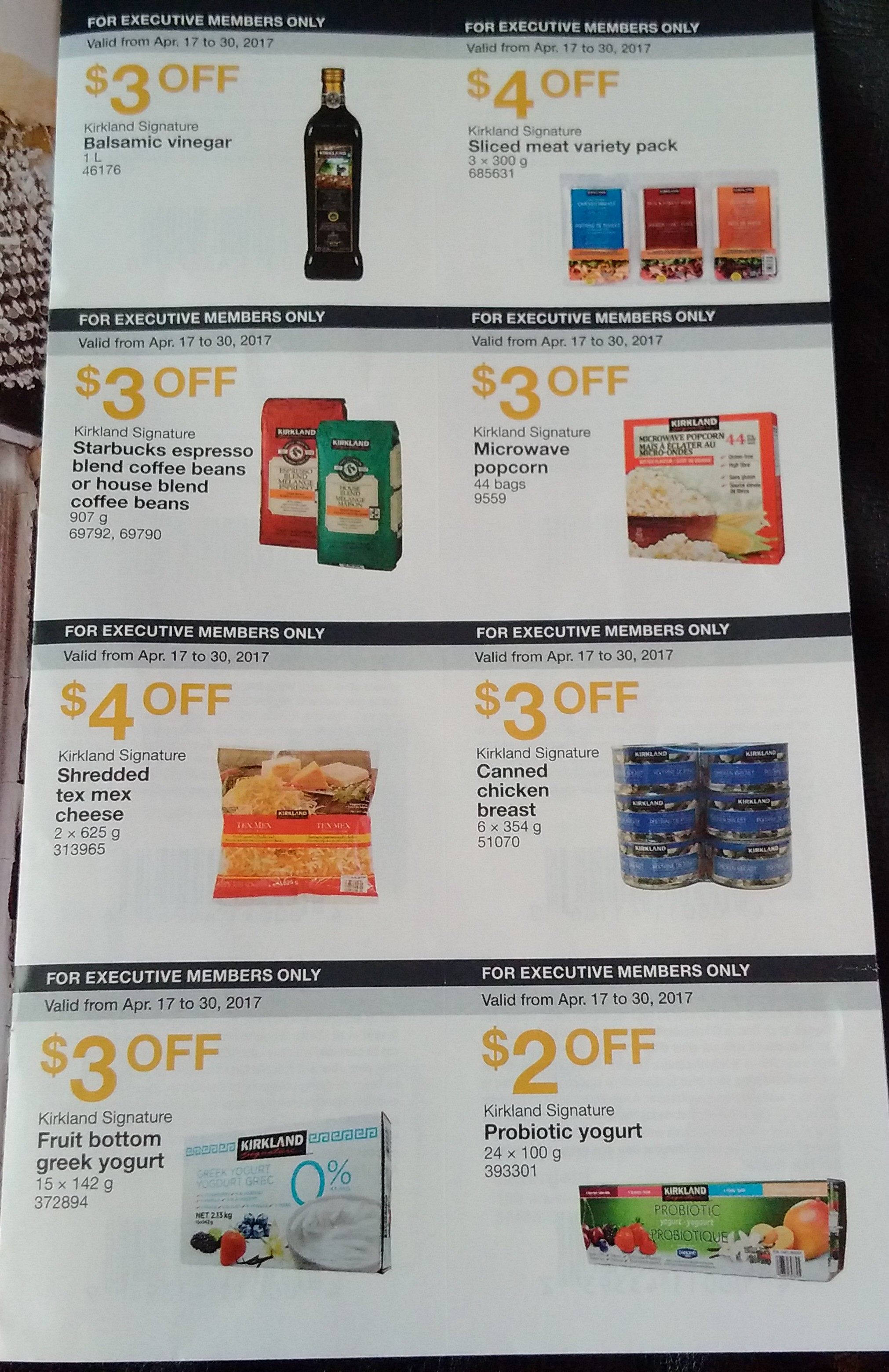 Coupons at costco