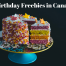 Post image for Birthday Freebies in Canada