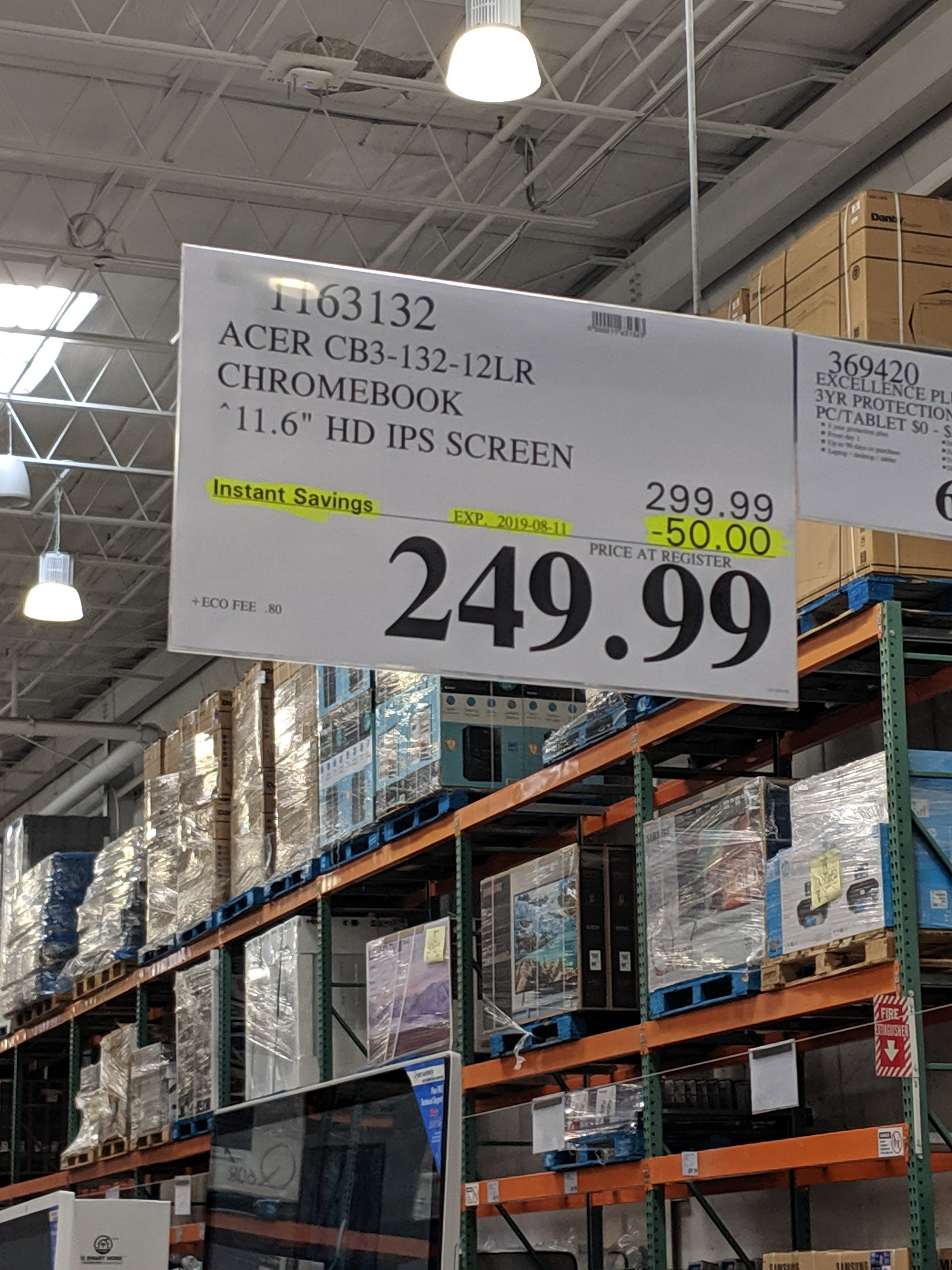 Costco unadvertised deals of the week starting August 5th