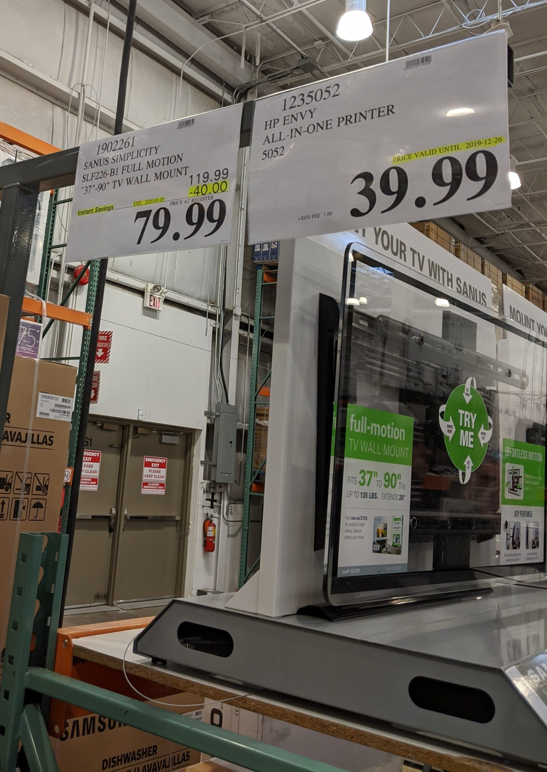 Costco unadvertised deals of the week starting December