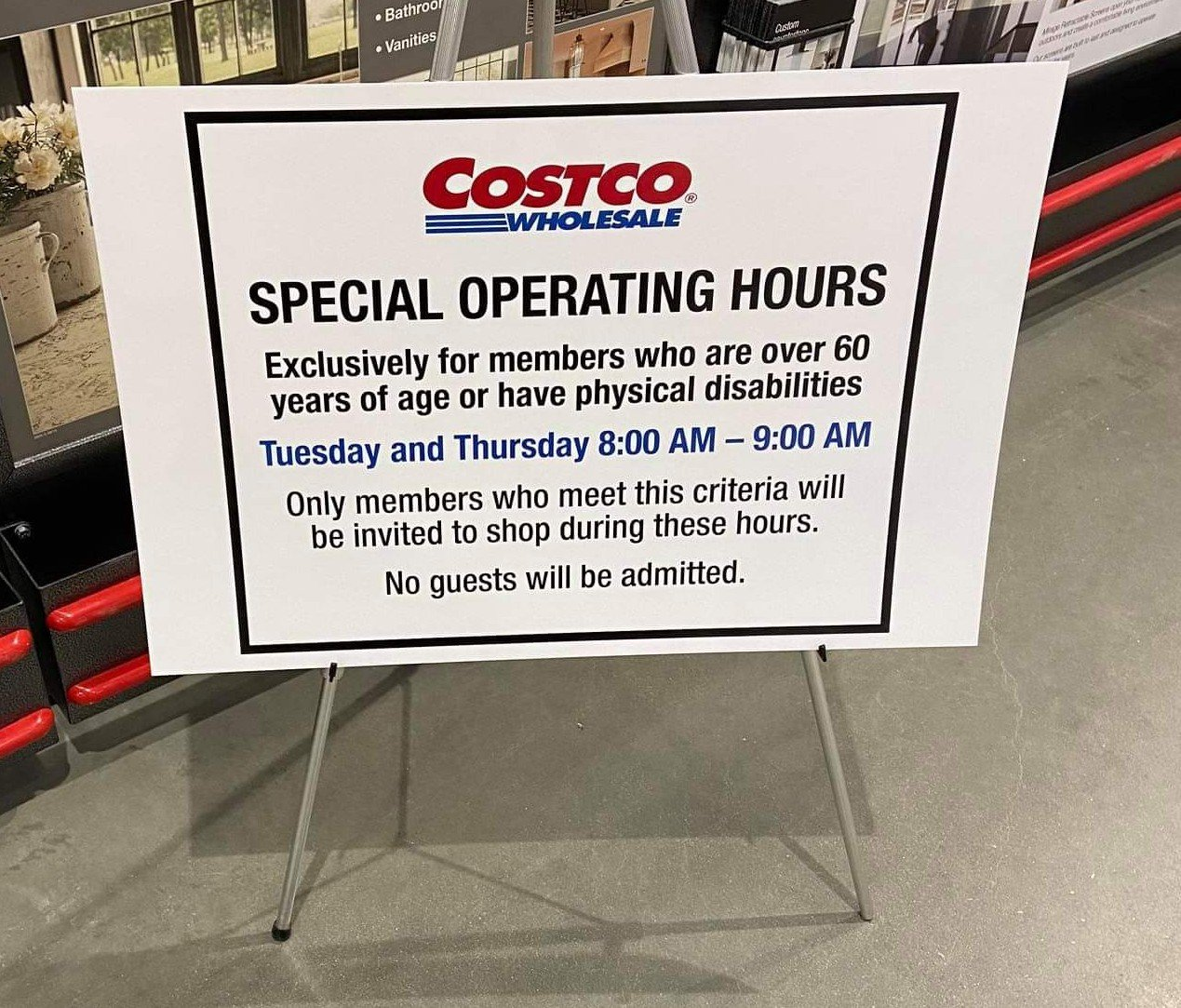 Costco Not Accepting Certain Returns And Senior Shopping